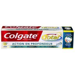 Dentifrice Colgate Total Action en Profondeur sur Couches Zone