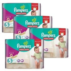 Giga Pack 330 Couches Pampers Active Fit taille 5