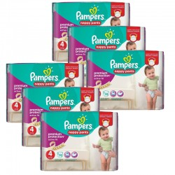 Maxi Giga Pack 224 couches Pampers Active Fit Pants sur Couches Zone