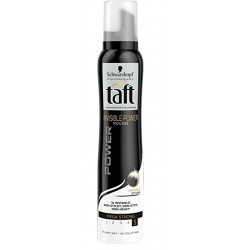 Taft Mousse 200 ml Invisible Power Mega Strong N°5 sur Couches Zone
