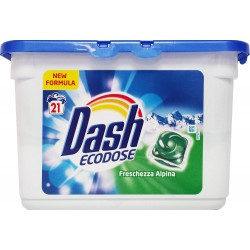 Dash Liq Tabs 21 Freschezza Alpina (583,3 gr) sur Couches Zone