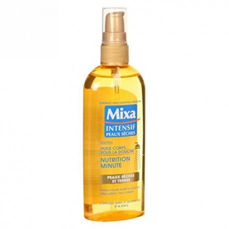 Mixa Huile de Douche 150 ml Nutrition Minute Spray sur Couches Zone