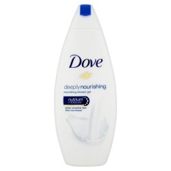 Dove Douche 250 ml Deeply Nourishing sur Couches Zone