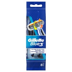 Gillette Blue3 Rasoirs Jetables 8 pc.Edition Football sur Couches Zone