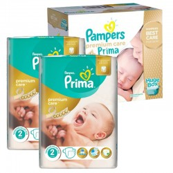 Maxi Pack 242 Couches Pampers Premium Care - Prima taille 2