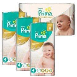 Giga Pack 240 Couches Pampers Premium Care - Prima taille 4 sur Couches Zone