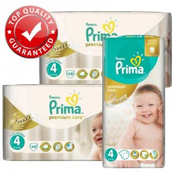 Giga Pack 560 Couches Pampers Premium Care - Prima taille 4 sur Couches Zone