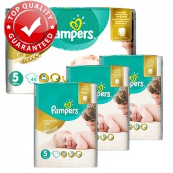 Maxi Pack 180 Couches Pampers Premium Care - Prima taille 5 sur Couches Zone
