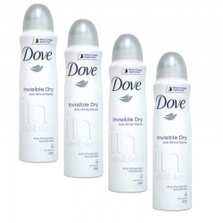 Lot 4 Deodorants Dove Invisible Dry sur Couches Zone