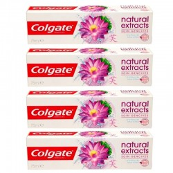 Lot 4 Dentifrices Colgate Natural Extracts Soin Gencives