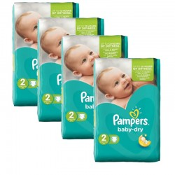 168 Couches Pampers Baby Dry sur Couches Zone