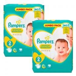 136 Couches Pampers new baby - premium protection sur Couches Zone