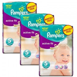 Giga Pack 282 Couches Pampers Active Fit