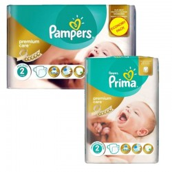 Pack 114 Couches Pampers new baby - premium protection
