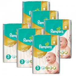 pack Jumeaux 480 Couches Pampers Premium Care - Prima taille 3