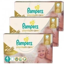 Mega Pack 420 Couches Pampers Premium Care - Prima