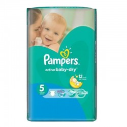 Pack 88 couches Pampers Active Baby Dry sur Couches Zone