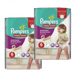Pack 28 Couches Pampers Active Fit - Pants sur Couches Zone