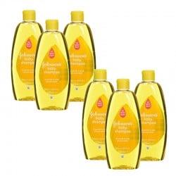Pack de 6 Shampooings doux bébé Johnson 300 ml sur Couches Zone