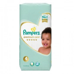 Pack 34 Couches Pampers New Baby Premium Care taille 4 sur Couches Zone