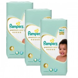 Mega pack 102 Couches Pampers New Baby Premium Care taille 4 sur Couches Zone