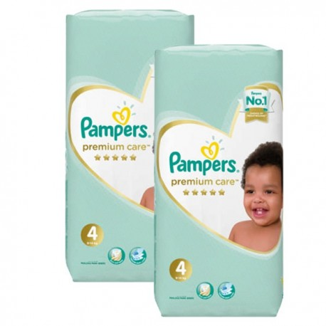 Mega pack 136 Couches Pampers New Baby Premium Care taille 4 sur Couches Zone