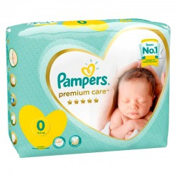 Pack 30 Couches New Baby Premium Care sur Couches Zone