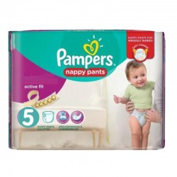 Pack 40 Couches Pampers Active Fit Pants sur Couches Zone