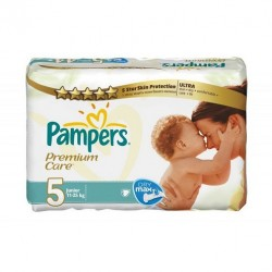 Pack 240 Couches Pampers Premium Care taille 5 sur Couches Zone