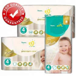 Maxi mega pack 442 Couches Pampers New Baby Premium Care taille 4 sur Couches Zone