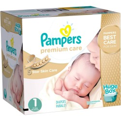 Giga pack 264 Couches Pampers Premium Care taille 1