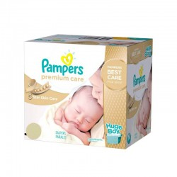 Pack jumeaux 616 Couches Pampers Premium Care taille 1 sur Couches Zone