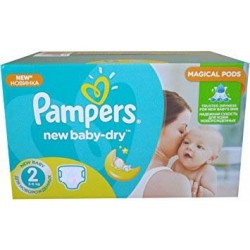 Maxi giga pack 344 Couches Pampers New Baby Dry