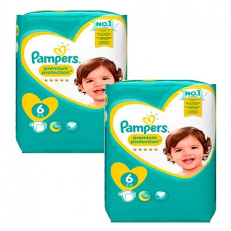 Giga pack 228 Couches Pampers New Baby Premium Protection taille 6 sur Couches Zone