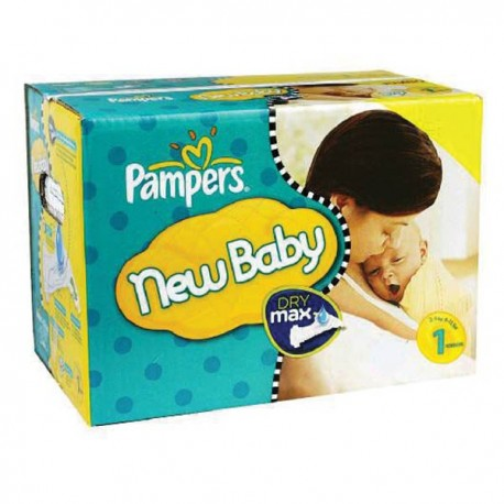 Pack jumeaux 960 Couches Pampers New Baby Premium Protection taille 1 sur Couches Zone