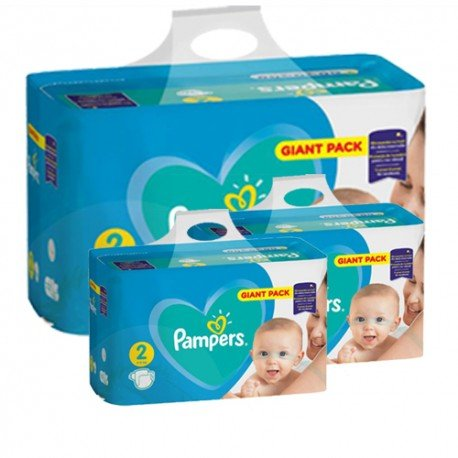 Pack jumeaux 940 Couches Pampers Active Baby Dry taille 2 sur Couches Zone