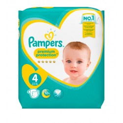 Pack 24 Couches Pampers New Baby Premium Protection taille 4 sur Couches Zone