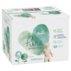 Mega pack 140 Couches Pampers Pure Protection taille 4