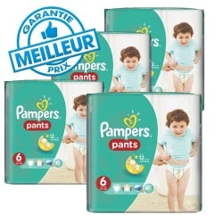 Giga pack 285 Couches Pampers Baby Dry Pants taille 6 sur Couches Zone