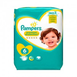 Pack 31 Couches Pampers New Baby Premium Protection taille 6 sur Couches Zone