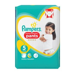 Pack 30 Couches Pampers Premium Protection Pants taille 5 sur Couches Zone