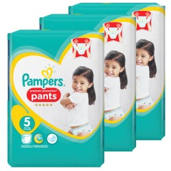 Giga pack 200 Couches Pampers Premium Protection Pants taille 5 sur Couches Zone
