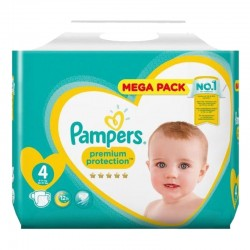 Pack 41 Couches Pampers Premium Protection taille 4 sur Couches Zone