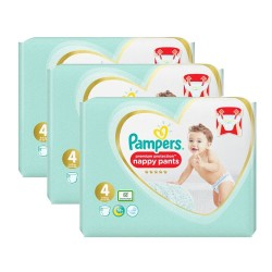 Mega pack 188 Couches Pampers Premium Protection Pants taille 4 sur Couches Zone