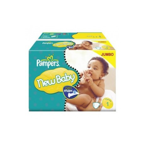 Mega pack 198 Couches Pampers Premium Protection taille 1 sur Couches Zone