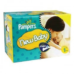Maxi mega pack 418 Couches Pampers Premium Protection taille 1