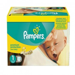 Maxi mega pack 462 Couches Pampers Premium Protection taille 1