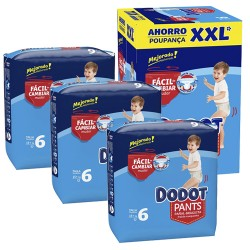 Mega pack 112 Couches Dodot 0 taille 6