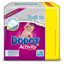 Pack 39 Couches Dodot Activity taille 6 sur Couches Zone