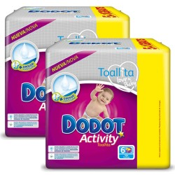 Mega pack 156 Couches Dodot Activity taille 6